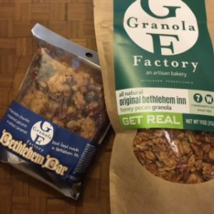 """Granola Factory"" All natural. Yum!"